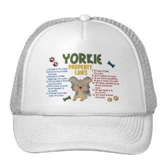 Yorkie Property Laws 4 Mesh Hat