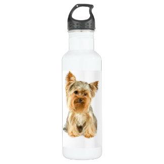 Yorkie Puppy 24oz Water Bottle