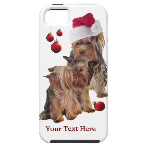 Yorkie Puppy  iPhone 5 Christmas Case iPhone 5 Covers