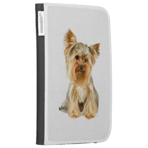 Yorkie Puppy Kindle Case