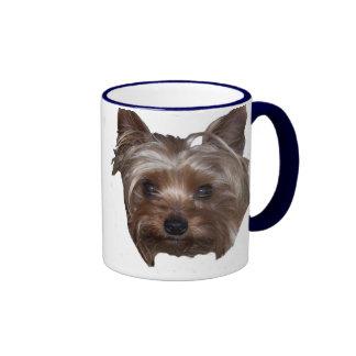 Yorkie Ringer Mug