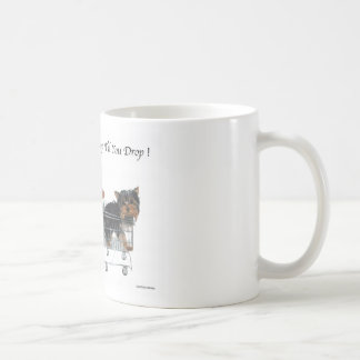 Yorkie Shop Til You Drop Coffee Mug