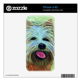 Yorkie Skins For iPhone 4