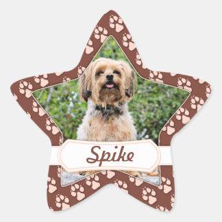 Yorkie - Spike Star Sticker