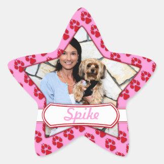 Yorkie - Spike Star Stickers