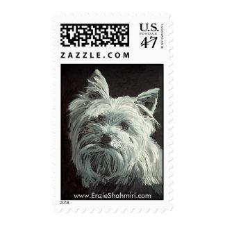 Yorkie Stamp