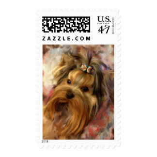 Yorkie Stamps