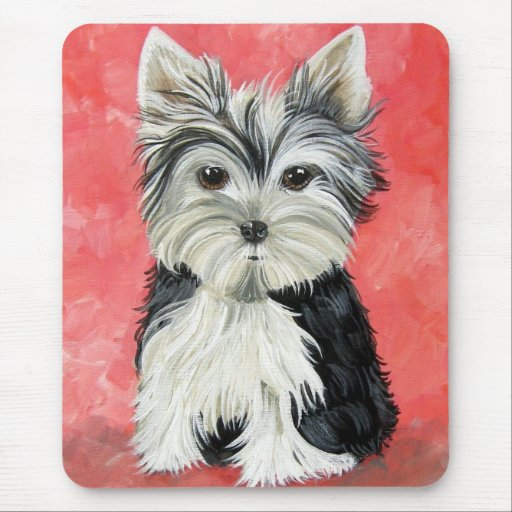 Yorkie Terrier Mouse Pad