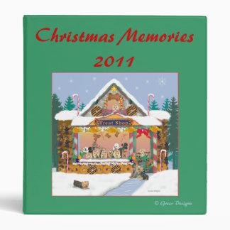 Yorkie Treat Shop Christmas Photo Album Binder