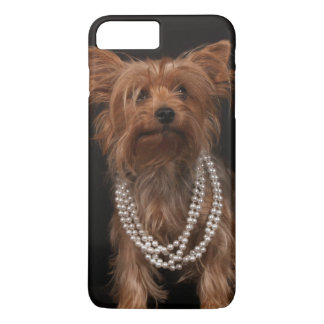 Yorkie with Pearls iPhone 8 Plus/7 Plus Case