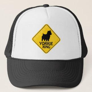 Yorkie Xing Trucker Hat