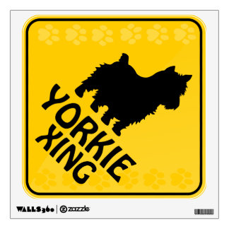 Yorkie Xing Wall Sticker