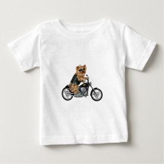 Yorkie Yorkshire Terrier Biker Shirt