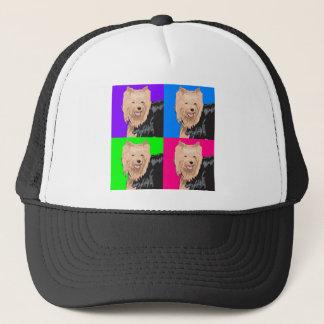 Yorkie Yorkshire Terrier Collage Trucker Hat