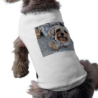 Yorkie Yorkshire Terrier Colored Tee