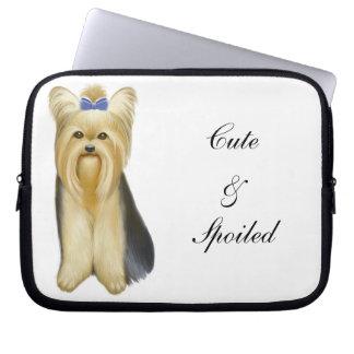 Yorkie Yorkshire Terrier Customizable Computer  Sl Laptop Sleeve