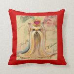 Yorkie Yorkshire terrier Portrait Princess Throw Pillow