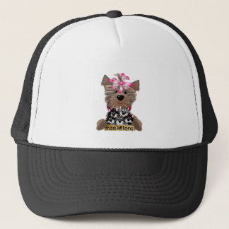 Yorkiegirl free Kittens Trucker Hat