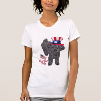 YorkiePoo American Pride T-Shirt