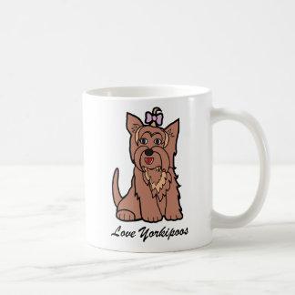 Yorkiepoo Coffee Cup