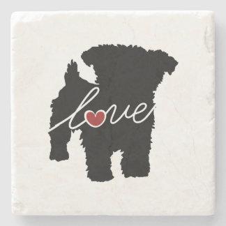 Yorkiepoo (Yorkie / Poodle) Love Stone Coaster