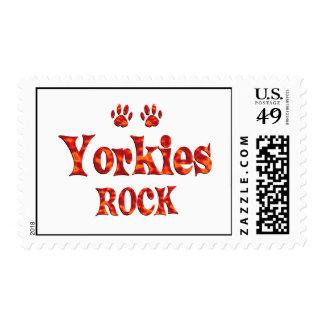 Yorkies Rock Postage