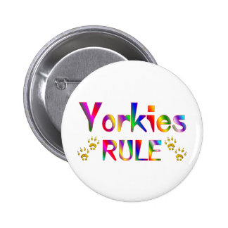 Yorkies Rule Buttons