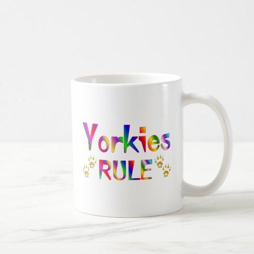 Yorkies Rule Coffee Mug