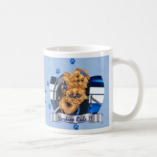 Yorkies Rule!! Pawprint #1 Mom Mug