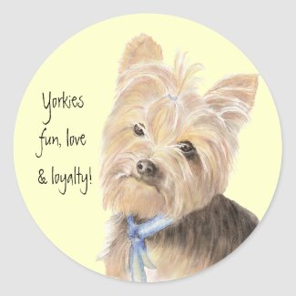 Yorkies Stickers sticker