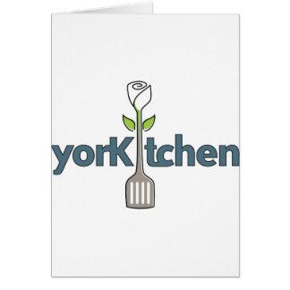 YorKitchen-Logo-Large Greeting Card