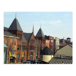 YorkPA-Central Market Postcard