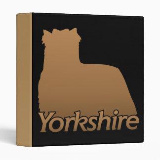 Yorkshire 3 Ring Binder