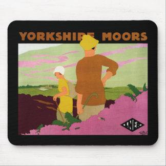 Yorkshire amarra tapete de raton