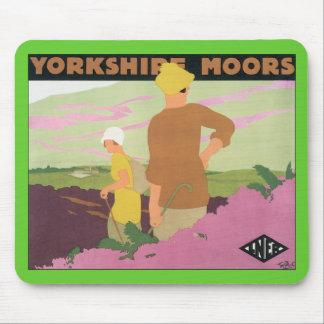 Yorkshire amarra alfombrilla de ratón