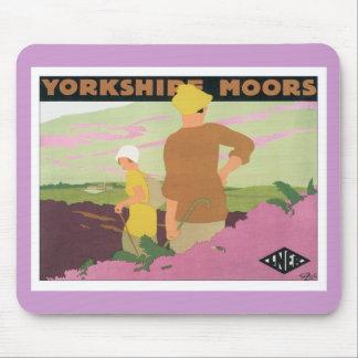 Yorkshire amarra alfombrilla de ratones