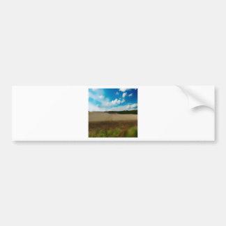 Yorkshire Blur Car Bumper Sticker