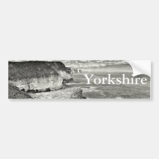 Yorkshire coast bumper sticker