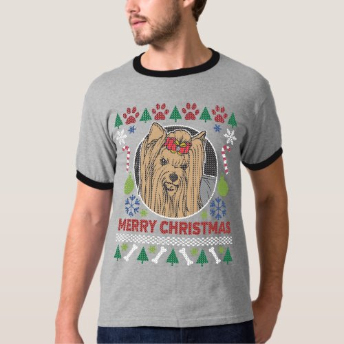 Yorkshire Dog Breed Ugly Christmas Sweater After Christmas Sales 3397