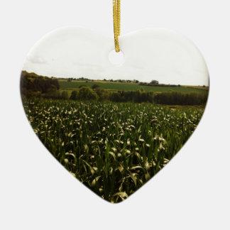 Yorkshire field ceramic ornament