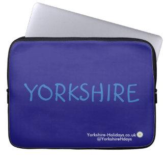 """Yorkshire-Holidays Laptop Sleeve (13"""")"""