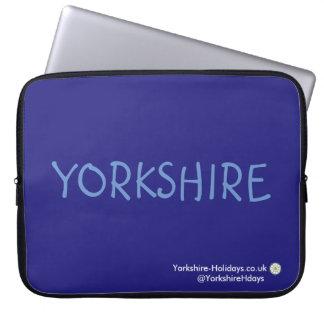 """Yorkshire-Holidays Laptop Sleeve (15"""")"""