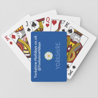 Yorkshire-Holidays Playing Cards