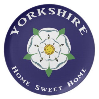 Yorkshire Home Sweet Home Plate