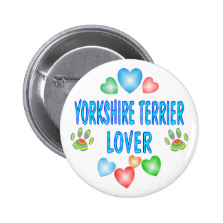 YORKSHIRE LOVER PINBACK BUTTON