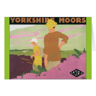 Yorkshire Moors Card