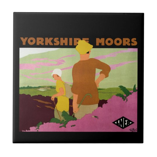 Yorkshire Moors Ceramic Tile