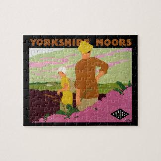Yorkshire Moors Jigsaw Puzzle