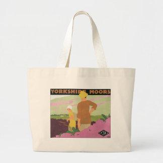 Yorkshire Moors Large Tote Bag