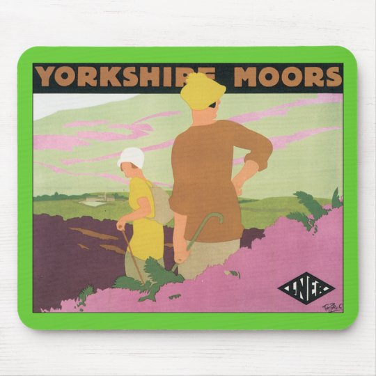 Yorkshire Moors Mouse Pad